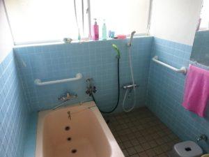 「浴室」手すり工事