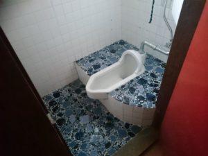 和式トイレを洋式トイレへ工事