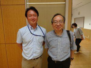 ほほえみライフ代表齋藤憲嗣と三好春樹氏