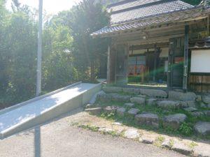 介護保険を活用しての住宅改修工事を浜田市金城町で行いました