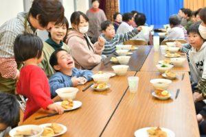 島根県浜田市三隅町湊浦での蕎麦打ち体験&試食会
