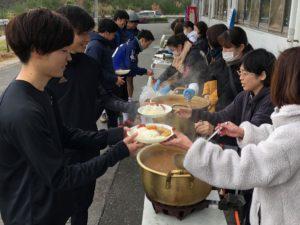 島根県内唯一のリユース食器笑顔 島根県浜田市
