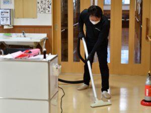 清掃の様子