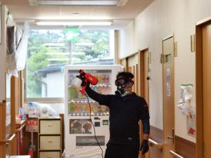 消毒 抗菌 新型コロナウイルス 島根県